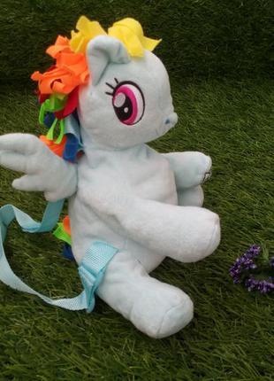 Рюкзак my little pony (hasbro) плюшевый текстильный  оригинал ...