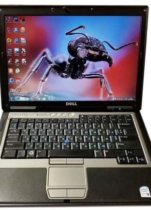 "Ноутбук Dell Latitude D620 14"" 2GB RAM 80GB HDD + подарок"