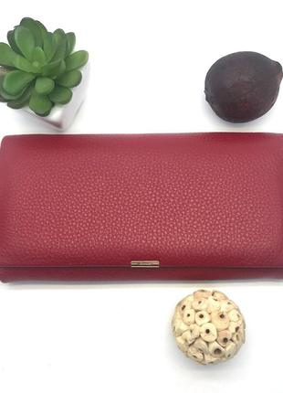 Красный женский кошелек invorx