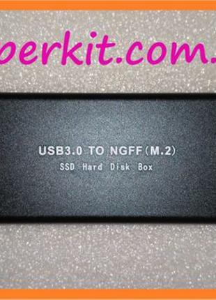 USB 3.0 USB 2.0 внешний карман под M.2 NGFF SSD HDD диск