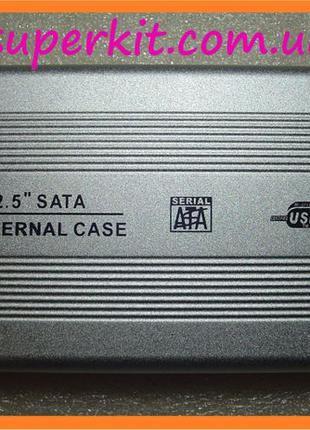 """USB 2.0 внешний карман корпус SATA винчестера HDD 2,5"""" ноутбучный"""
