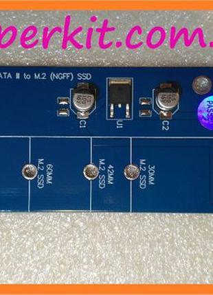 Переходник M.2 ( NGFF key B и B+M ) SSD to -> SATA
