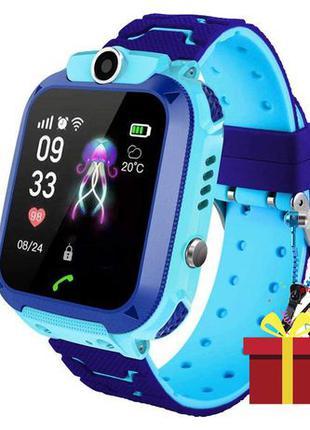 Смарт-часы детские Smart Baby Watch Q12 с камерой GPS ответ на...