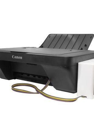 Принтер Сканер 3в1 МФУ CANON E414 + СНПЧ Струйный печать фото ...