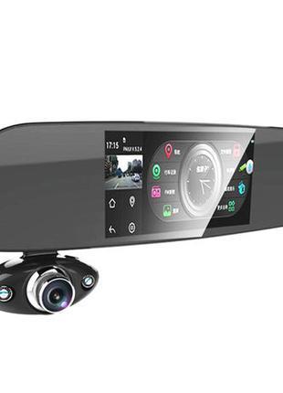 "Зеркало регистратор 5"" Anytek B33 две камеры 150°+ камера"