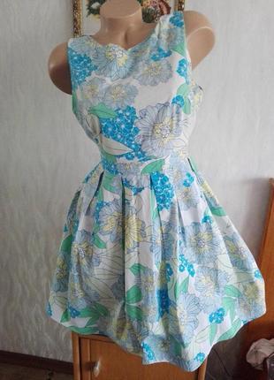 Летнее миленькое платье