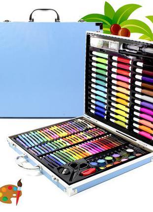 Набор Painting Set 150 предметов для творчества рисования чемо...