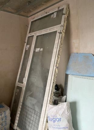 Металопластикові двері/ металлопластиковые двери
