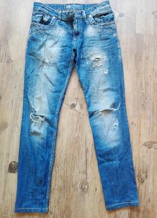 Турецкие рваные джинсы