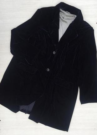 Бархатный,велюровый пиджак большого размера