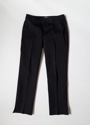 Черные классические брюки  слим