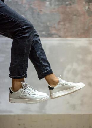 Мужские кроссовки адидас премьер белые