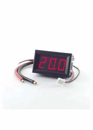 Цифровой амперметр постоянного тока Izmeritel 20A