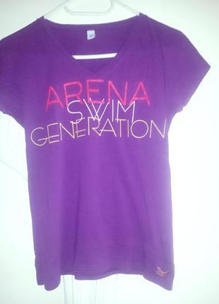 """Брендовая футболка """"arena"""",original"""