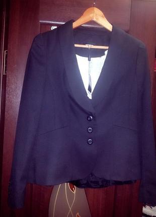 """Брендовый пиджак,очень интересная модель,""""next"""",original"""