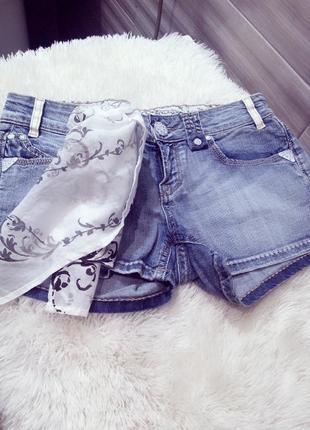 """Бомбезные брендовые джинсовые шорты """"eight sin"""",italy"""