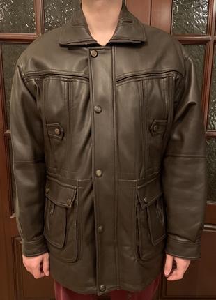 Мужская куртка с меховой подкладкой