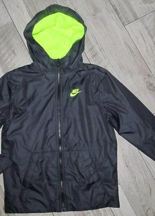 Куртка ветровка nike р. на рост 137-147см 10-12 лет