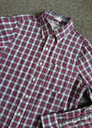 Рубашка мужская abercrombie & fitch