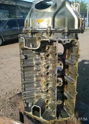 Блок двигателя газ 53, газ 66 с катером маховика