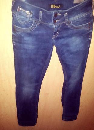 """Брендовые крутецкие джинсы """"ltb"""",original!завышенная талия!"""