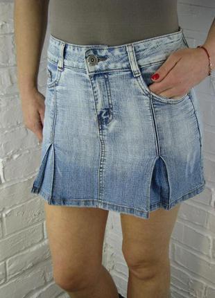 Юбка женская летняя джинсовая