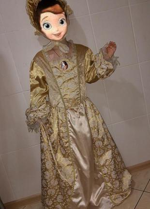 Платье элизабет суон (пираты карибского моря) на 7-10 лет