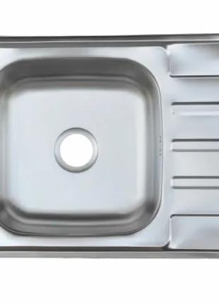 Мойка кухонная из нержавеющей стали 63*50 см