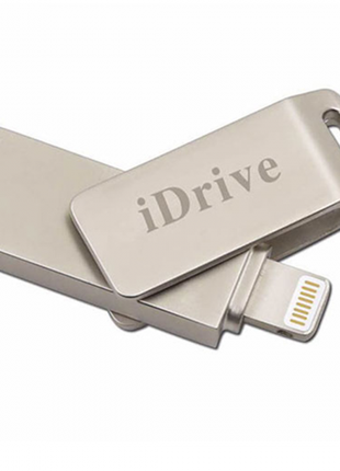Флешка iDrive на 128 Gb для iPhone, iPod, iPad. Накопитель память