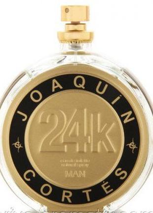 Joaquin Cortes 24k Man.  Мужская туалетная вода