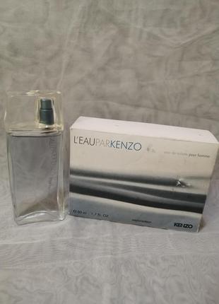 Kenzo l'eau kenzo pour homme туалетная вода для мужчин 50мл