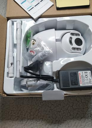 WI-FI PTZ icsee IP камера 2Mп поворотная/Функция слежения/НАЛОЖКА