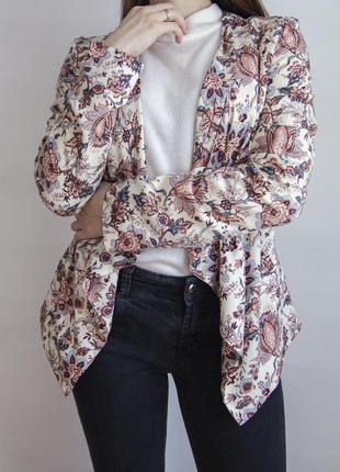 Жакет от new look с невероятно красивым цветочным принтом