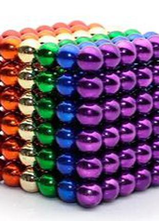 Магнитные шарики Neocube Неокуб игрушка головоломка 5 мм 216шт...