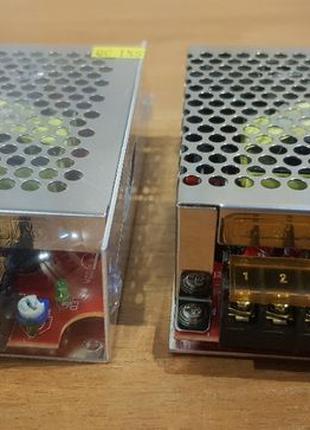 Блок питания адаптер мини 12В 10А 120Вт 12V 120W металл 115*78...