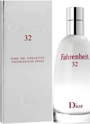 Christian Dior Fahrenheit 32.  Мужская туалетная вода