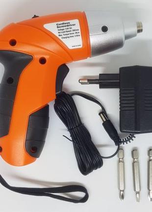 Компактный беспроводный шуруповерт Tuoye электрическая отвертк...