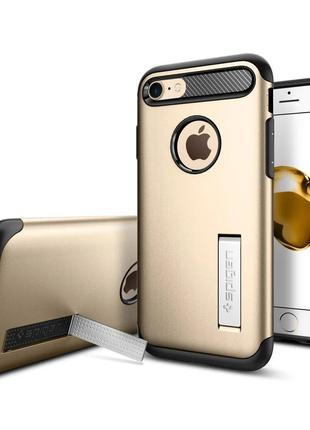 Чехол Spigen Slim Armor для iPhone 7  Gold