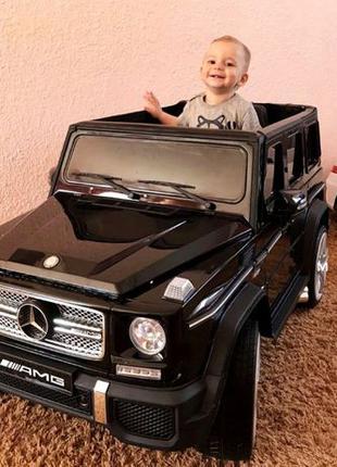 Детский электромобиль Mercedes G65 VIP: 90W, 2.4G, EVA-колеса,...