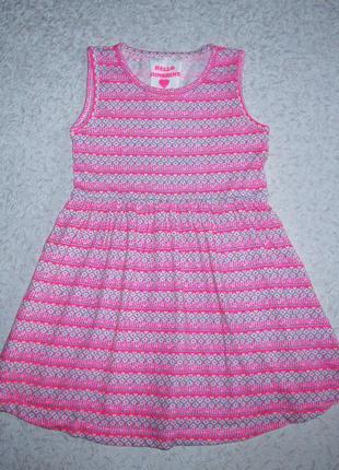 Платье yd 4-5лет