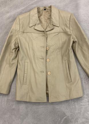 Кожаный пиджак, куртка, натуральная кожа