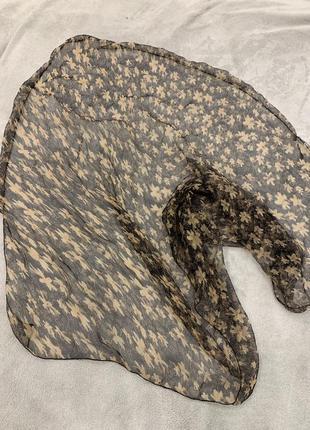 Легкий, воздушный платок, большой 88х88