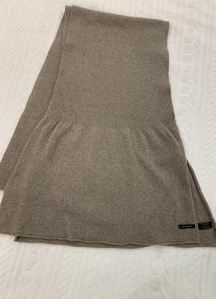 Большой, длинный, очень тёплый шерстяной шарф belmondo