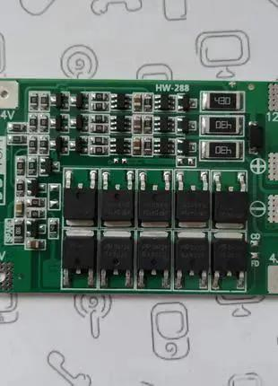 3s, bms, 18650, контроллер заряда-разряда