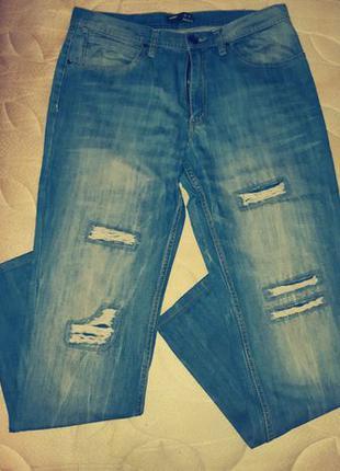 Мужские джинсы 32-34 размер