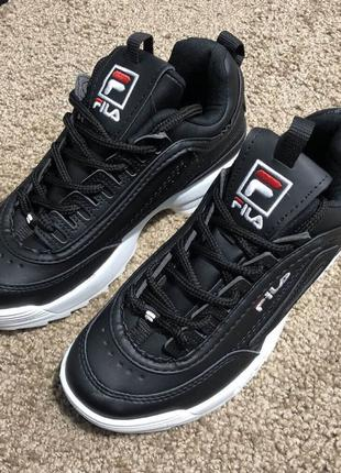 Fila Disruptor 2 Black/White