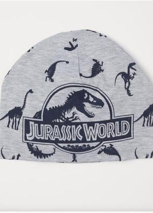 Шапка шапочка весна-осень h&m динозавры