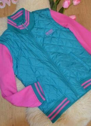 Стеганая куртка-жилетка 2 в 1