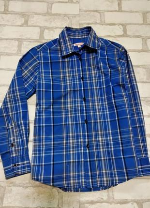 Фирменная рубашка мальчику. 134р