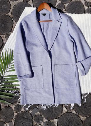 Нежно сиреневое трикотажое пальто кардиган пиджак new look 16 ...